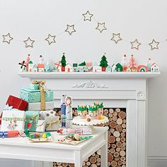 Shop Village Advent Calendar. This Village Advent Calendar by Meri Meri makes counting down the days until Christmas sweeter than ever.