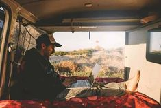 Want to make money while living the van life? Check out ways to making a living while living in a camper van. Anything from workamping, to proofreading, to transcribing, there is something for everyone. Campervan Gifts, Best Campervan, Living On The Road, Rv Living, Make Money Writing, Way To Make Money, Travel Trailer Accessories, Van Life Blog, Cool Vans