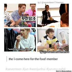 Me and Jun could be friends. He has his priorities straight~