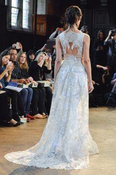 Claire Pettibone Gothic Angel Runway Show | The Eden gown | Little White Dress Bridal Shop: Denver Bridal Gowns & Wedding Dresses