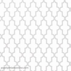 Papel Pintado Geométrico Gris estilo moderno, por tan solo 15,95 €, Entrega inmediata y disponibilidad de muestras. Tan Solo, Barcelona, Interiors, Arabesque, Shape, Geometric Wallpaper, Wallpaper For Walls, Interior Walls, Painted Walls
