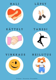Yksilöllinen aamutervehdys. Lapsi saa itse valita, miten hän tervehtii. Early Education, Early Childhood Education, Finnish Language, Nursery School, Working With Children, School Classroom, Social Skills, Pre School, Classroom Management