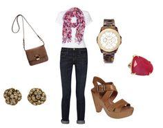 White T + accessories!