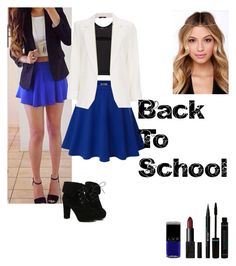 """Back To School: Day 4"" by katrice-s ❤ liked on Polyvore featuring Doublju, Helmut Lang, Wallis, Stila, NARS Cosmetics and TURNOVER"
