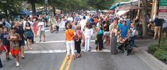 Alive After Five Roswell GA July 17. Street party in Roswell's ...