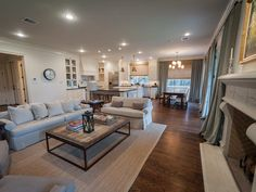 ....And looking into the kitchen and breakfast area, you get the whole open concept view!