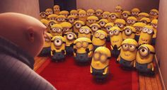 They kiss up to their bosses. | Community Post: 30 Ways Interns Are Just Like Minions