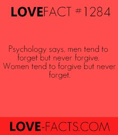 Did you know? Psychology says, men tend to forget but never forgive. Psychology Fun Facts, Psychology Quotes, Abnormal Psychology, Psychology Degree, Love Facts, Wtf Fun Facts, Wierd Facts, Strange Facts, Real Facts