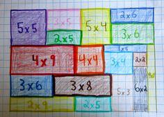 Math / Art Grid Lesson