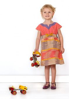 Oliver and S PATTERN  Roller Skate Dress and by TheNeedleShop, $15.95