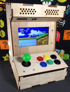 The Porta-Pi Mini Arcade is a desktop-sized, fully functional, mini arcade cabinet measuring just under 13 x 9 x 10 inches (HxWxD). This Porta-Pi Arcade turns your...