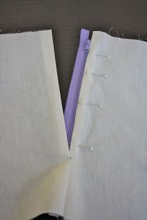 Sewing Secrets: Sewing a Lapped Zipper in a Skirt