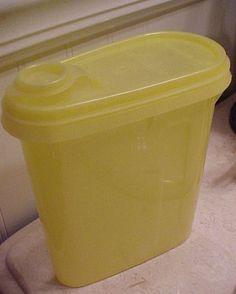 Tupperware Contenedor de líquidos vintage