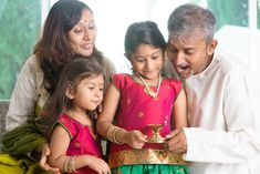Diwali is one of the biggest Indian celebrations. Use these fun activities to explore Diwali with your children. Diwali Party, Diwali Celebration, Diwali For Kids, Parenting For Dummies, Indian Family, How To Teach Kids, Family Images, Girls Hand, Indian Festivals