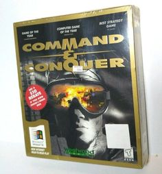 Vintage Command & Conquer Gold Edition Computer PC Game Windows 95 Westwood NEW