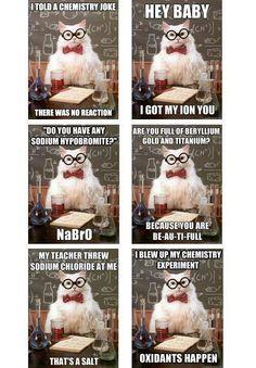Chemistry jokes :)