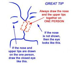 how to sketch an anime kiss step 13
