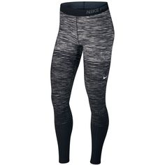 3874f44765 Nike Pro HyperWarm Space-Dyed Stirrup Leggings (110 NZD) ❤ liked on Polyvore