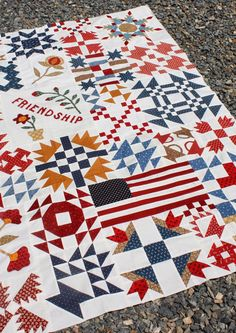 Temecula Quilt Company - Friendship Sampler Block of the Month