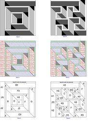 Shop | Kategorie: Labyrint předlohy | Výrobek: Labyrint Procházka - Cesta do Jericha deka vzor nastaven