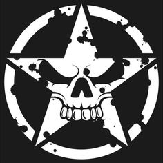 Discover recipes, home ideas, style inspiration and other ideas to try. Skull Stencil, Tattoo Stencils, Stencil Art, Jeep Wrangler, Jeep Stickers, Muster Tattoos, Metal Mulisha, Skull Artwork, Arte Horror