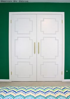 Driven By Décor: Transforming the Look of Flat Doors with Panel Molding using ProBond