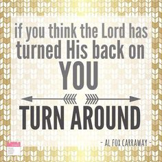 Turn around today. #blessings @22AlFox