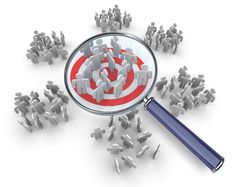 we help our clients identify their target market by understanding our clients' businesses and products.