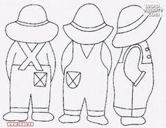 Sunbonnet Sue Overall Sam heart Y sun Bill Bonnet - txatxa ma - Picasa Albums Web Applique Templates, Applique Patterns, Applique Quilts, Craft Patterns, Embroidery Applique, Quilt Patterns, Embroidery Designs, Patch Quilt, Quilt Blocks