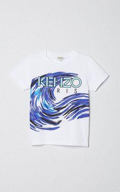 Waves boy tshirt, KENZO