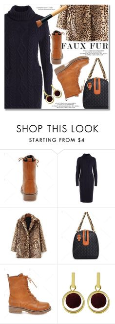 """Faux Fur Coats"" by svijetlana ❤ liked on Polyvore featuring fauxfurcoats and twinkledeals"