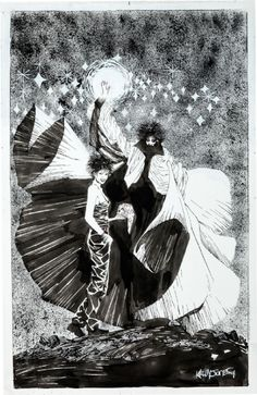 Death and The Sandman by Kelley Jones *
