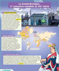 Fiche exposés : La Grande-Bretagne, 1ere puissance mondiale du XIXe siècle