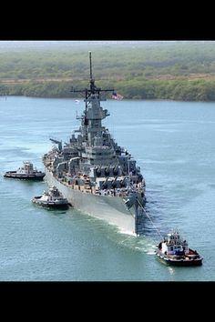 Battle ship, mighty ships.