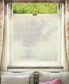 Frostbrite frosted window film pattern is available to buy online for DIY installation in your home or office. Frosted Window Films are suitable for all types of glass windows for privacy and patterned decoration. Frosted Window Film, Privacy Glass, Window Privacy, Bathroom Windows, Window Dressings, Window Coverings, Window Treatments, Window Panes, Window Glass