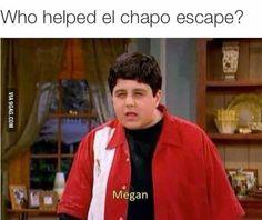 Always suspect Megan first!