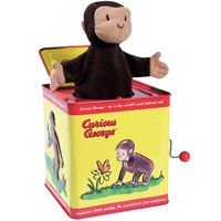 Curious George Jack in the Box Toys from RetroPlanet.com ($20-50) - Svpply