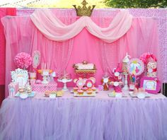 Welcome to KROWN KREATIONS & CELEBRATIONS! I have always loved the world of the PRINCESSES. It shows that if you Dream for good things they will come true! This was the Party I have always waited for. My Daughters 5th Birthday. I loved It! The Food was amazing, The Castle Cake, The Craft Center and the sending off Purple Princess Party, Disney Princess Birthday, Girl Birthday, Birthday Parties, Birthday Crowns, Princess Girl, Princess Sofia, Princess Crowns, Princess Theme
