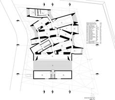 Image 31 of 33 from gallery of ORDOS 100 MOS Architects. Architecture Drawings, Architecture Plan, Mos Architects, Solar Chimney, Architectural Plants, Architectural Presentation, Chinese Courtyard, Plan Drawing, Ground Floor Plan
