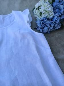 Astrid Tunic Top - West of the Waves - Australian Made Linen Waves, Tunic Tops, Collection, Design, Fashion, Moda, Fasion, Ocean Waves