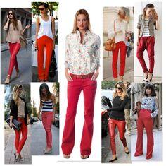 0e1f674e9e Las 266 mejores imágenes de pantalones rojos en 2019