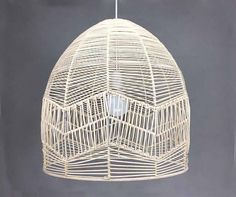 Handwoven From Rattan Pendant Lights-Rattan Lamp