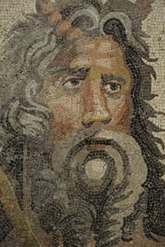 Oceanus, Zeugma Mosaic Museum in Gaziantep, Copyright Dick Osseman