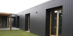 Everist Timber supplies high quality timber cladding materials including: Weathertex and weatherboards. Check out our range of exterior wall cladding products. Black Cladding, Cedar Cladding, House Cladding, Facade House, External Wall Cladding, Composite Cladding, Building Design, Building A House, Shed Homes