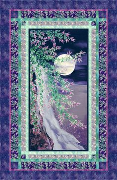 Moon Over Waterfall FREE Quilt Pattern - personalize your own at http://www.equilter.com/pattern/730/moon-over-waterfall?fn=pa_20160502194535