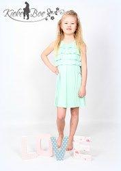 #meisjes #girl #jurkje #zomer #limegroen #groen  super leuk jurkje voor meisjes Van Silvian Heach www.kieke-boe.nl