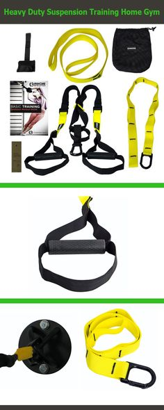 Iron Core Athletics Heavy Duty Suspension Training Home Gym - Premium features include - Durable Rubber Handles, screw locking carabineer for security, anti slide loop for single arm exercises, durable extension strap for outdoor use, Quickstart Workout Guide.