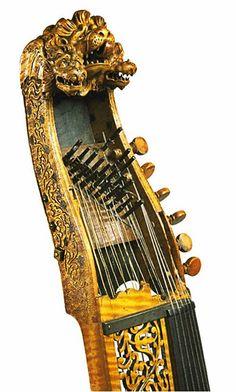 Joachim Tielke (1641-1719) - Baryton - Hamburg (1686) #JoachimTielke #baryton #music