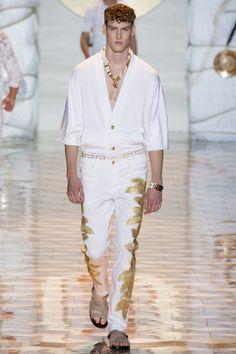 Versace, défilé homme printemps-été 2015 #mode #fashion #couture