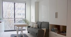 The cutting-edge space, composed of 55 studio apartments ranging from 260 to 360 square feet, is proof that a teeny apartment is nothing to complain about, but something to embrace.